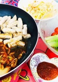フライパンで韓国焼肉!サムギョプサル風
