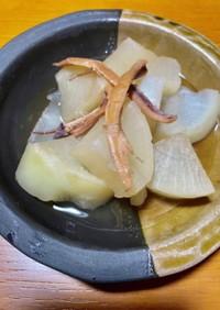 スルメと大根の煮物