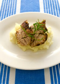我が家の美味しい豚ヒレ肉のステーキ