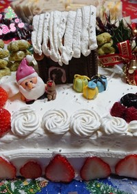 クリスマスケーキ  (覚書)