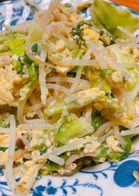 ふわふわ卵のチョー簡単野菜炒め!