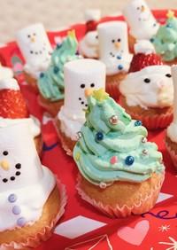 簡単!クリスマスケーキ3種