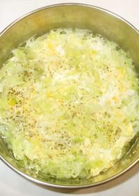 ビタミン野菜スープ♪簡単鶏ひき肉