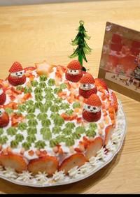 クリスマスケーキ クリスマスツリーケーキ