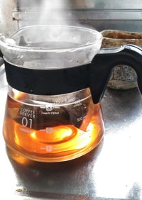 ホット麦茶
