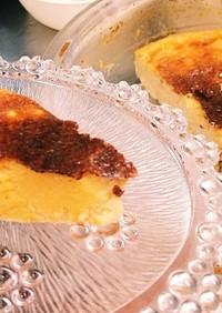 子供と作る♪ピザチーズのチーズケーキ★