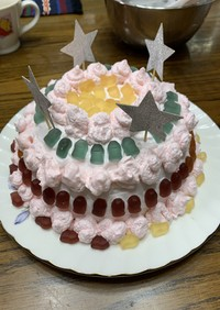 簡単ドームケーキ