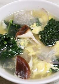 カーボロネロのかき玉スープ【JA福井県】