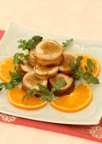 鶏肉の乾燥芋巻