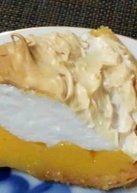 家庭のレモンパイ 冷凍パイシート使用