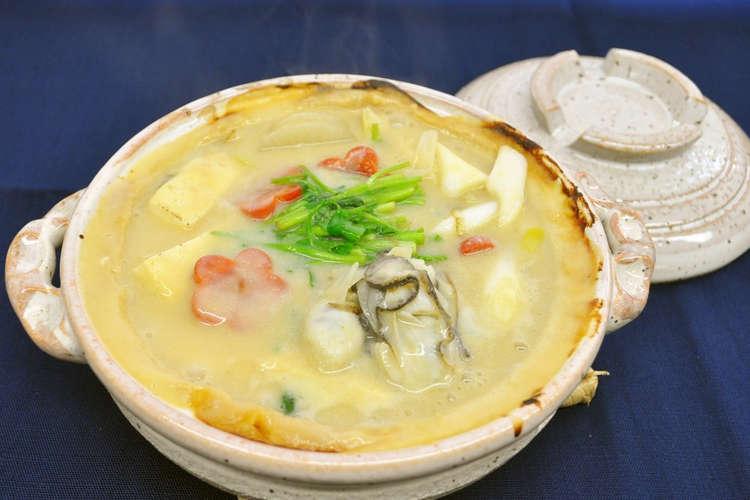 牡蠣 土手 鍋