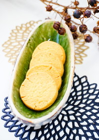 【高野豆腐パウダーと甜菜糖のクッキー 】