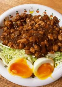 ルーローハン(甜麺醤アレンジ)