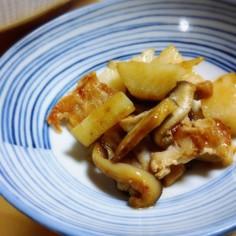 豚肉と山芋のオイスターソース炒め