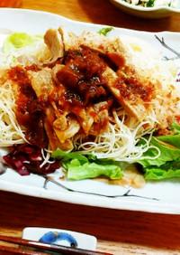 リメイク☆豚の生姜焼きでスタミナ素麺