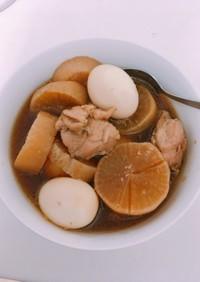 簡単♪炊飯器で鶏と大根の煮物