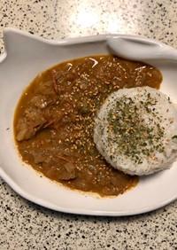 贅沢に牛肉スパイス7種カレー