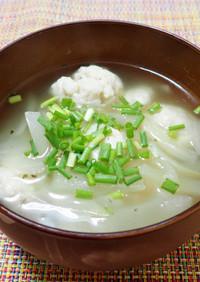 サワラのつみれスープ
