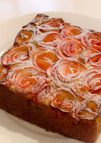 りんごの薔薇ケーキ【HMアレンジ】