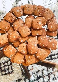 簡単グルテンフリーアイスボックスクッキー