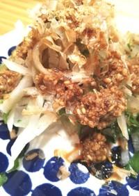 大根と大葉のポン酢サラダ