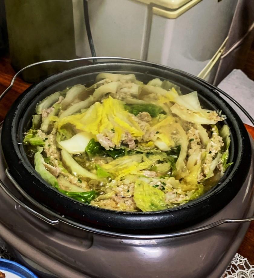 出汁から作る!白菜と豚肉のミルフィーユ鍋