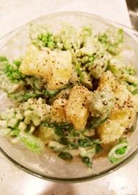 温野菜のクリーミータラモサラダ