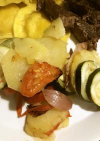 ズキーニ&ポテトグラタン ギリシャ料理