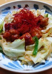 鳥もも肉と野菜の味噌炒め◎鶏ちゃん風