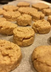 素朴なスパイシーココナッツクッキー