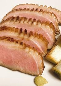 和風合鴨ロース煮(低温調理)