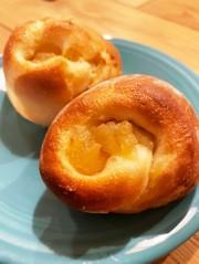 りんごのブリオッシュ風パンの写真