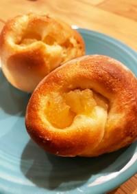 りんごのブリオッシュ風パン
