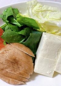 ダイエット 鮭の味噌煮込み鍋(石狩鍋)