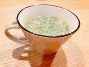ブロッコリーの豆乳ポタージュの写真