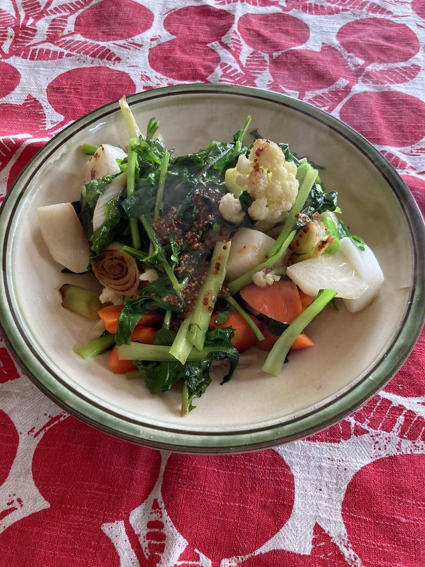 冬野菜のホットサラダ