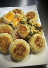 なす味噌とチーズの お焼き(*≧∀≦*)