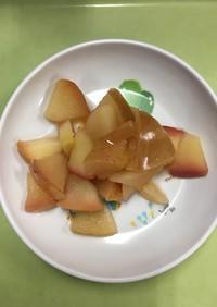 【保育園給食】りんごのコンポート