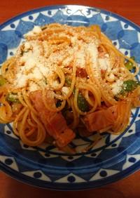 スパゲティ―ナポリタン 簡単男料理