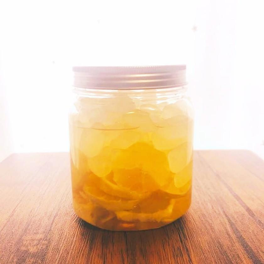 冬の保存食☆レモン酢♪