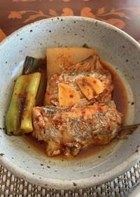 カルチジョリム (太刀魚の煮物)