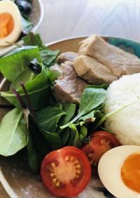 ワンボウルで作る レンジ煮豚