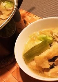 ◆簡単ぽかぽか コク旨味噌鍋◆
