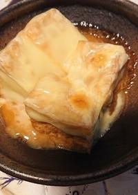 厚揚げで簡単一品!厚揚げチーズ