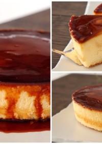 簡単超スフレチーズプリンケーキ