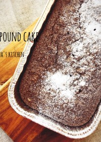おからパウダーでパウンドケーキ♪♪