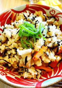 沖縄の炊き込みご飯*じゅーしー
