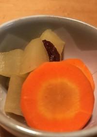レンチン☆にんじんとりんごの甘煮
