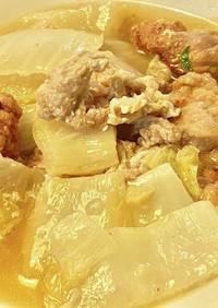 白菜の水分だけの豚煮物 タロの弁当番外編