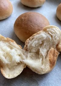 強力粉・牛乳・バター等々無し!薄力粉パン
